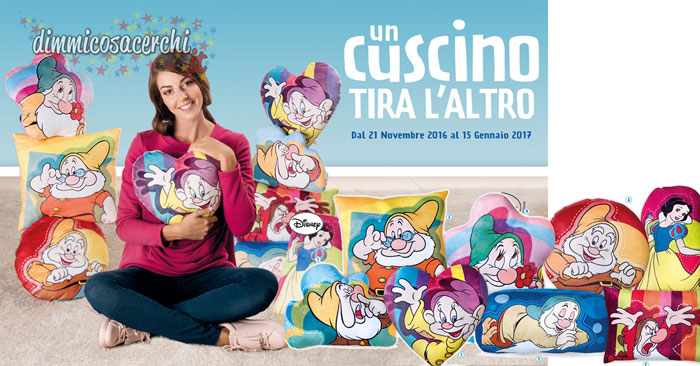 Raccolta cuscini Disney