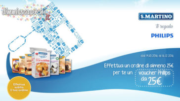 Voucher Philips in regalo con S.Martino