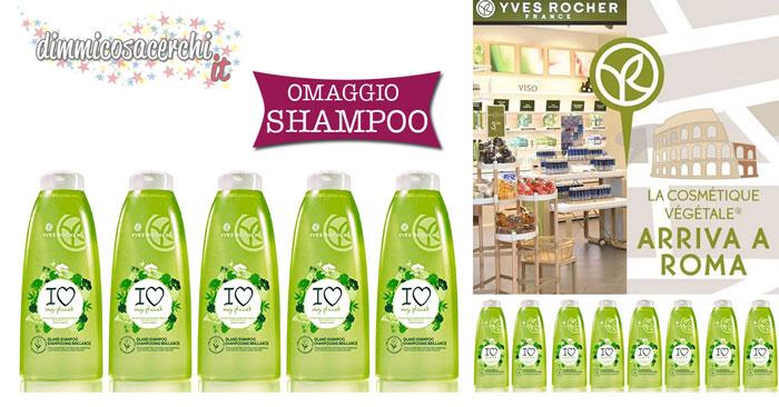 Yves Rocher: shampoo omaggio