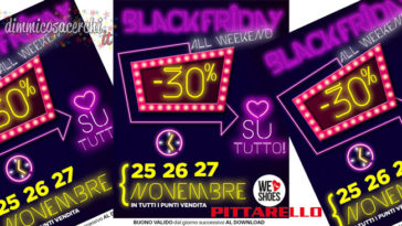 black friday pittarello