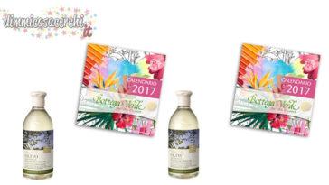 Calendario 2017 Bottega Verde omaggio ed altri vantaggi