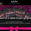Concorso Nyx Cosmetics di Natale