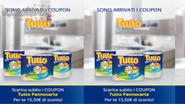 coupon tutto pannocarta
