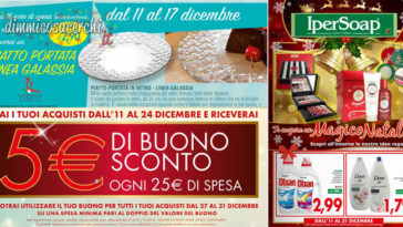 Promozioni Volantino Ipersoap dicembre
