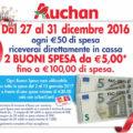 Volantino Auchan Convenienza in festa