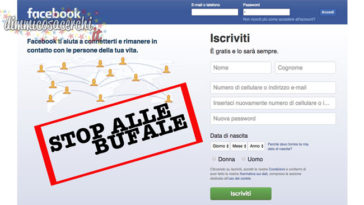 bufale facebook