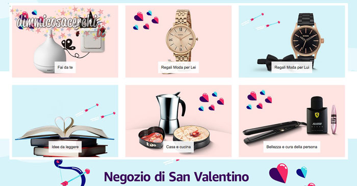 Amazon negozio di San Valentino