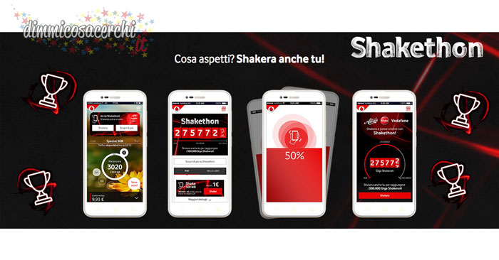 """Concorso Vodafone """"Shakethon"""""""
