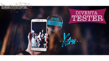 Diventa tester dello smartphone Huawei Honor 6X