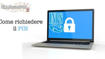 Inps online richiedi il pin