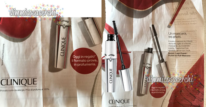 Mascara Clinique Lash Power omaggio