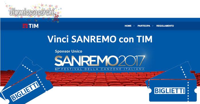 Vinci Sanremo con Tim