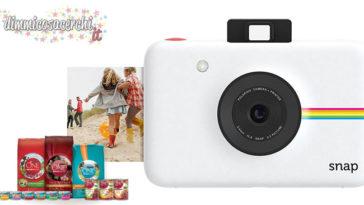 Vinci una Polaroid Snap con Purina ti premia