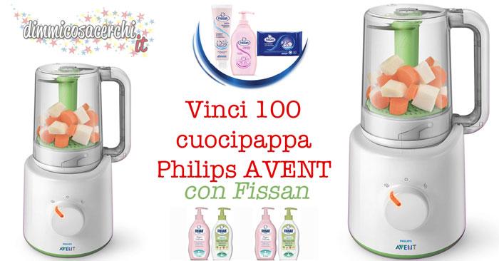 Concorso Fissan, vinci EasyPappa Philips AVENT