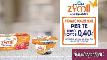 Buoni sconto Yogurt Zymil