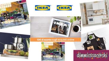 Buono sconto Ikea 10€
