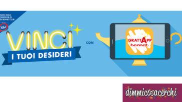 Concorso Bennet: vinci i tuoi desideri con GrattApp