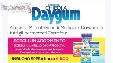 Concorso DayGum + buono sconto 0,50€