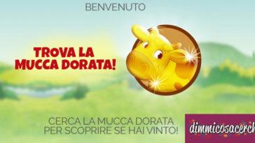 Concorso De Agostini mucca dorata