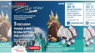 Concorso Maina: vinci 5 viaggi a New york