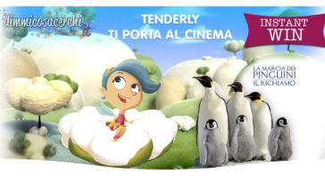 Concorso Tenderly ti porta al cinema