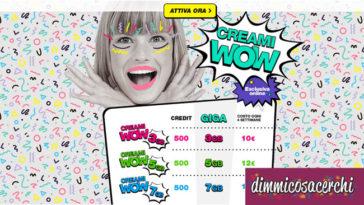 Creami WOW Poste Italiane