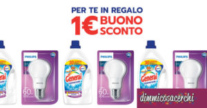 General ti regala un buono sconto Philips Led