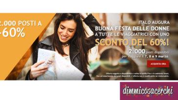 Offerta Italo Treno per la festa della donna
