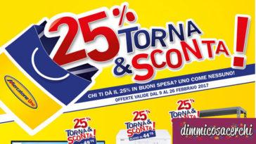 Promozione Torna&Sconta Mercatone Uno
