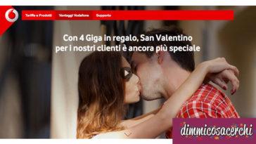Vodafone per San Valentino