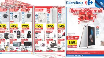 Volantino Carrefour: spendi e riprendi su tanti prodotti