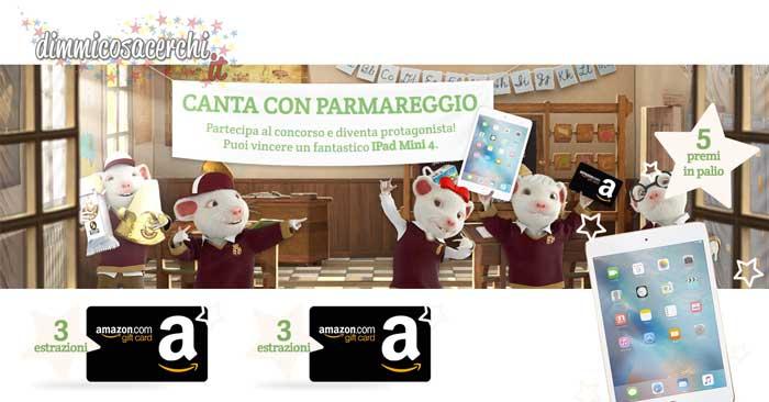 Canta con Parmareggio e vinci iPad mini 4