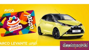 Parco Levante: vinci una Toyota Aygo!