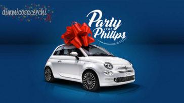 Party con Philips: nuovo concorso per vincere Fiat 500x