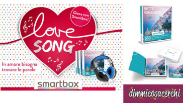 Concorso Smartbox Love Song