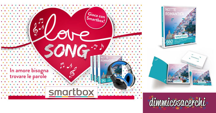 Concorso Smartbox Love Song