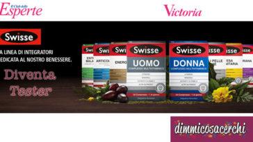 Diventa tester Swisse con Victoria50