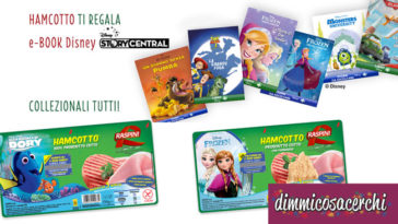HAMCOTTO Raspini ti regala gli ebook Disney