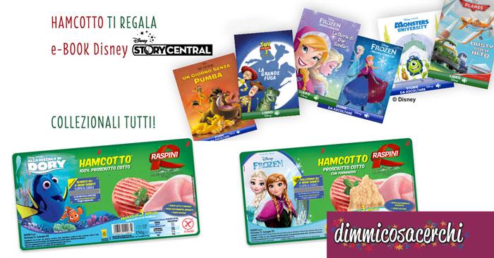 HAMCOTTO Raspini ti regala gli ebook Disney