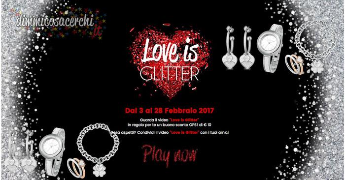 love is glitter