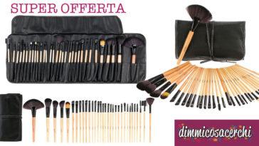 pennelli make up offerta