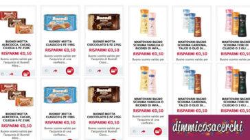Buonpertutti: risparmia con i nuovi coupon Mantovani e Buondì Motta
