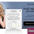 Campione omaggio Lancome Skin Diagnostic