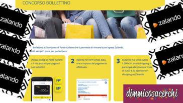 Concorso Bollettino Poste Italiane