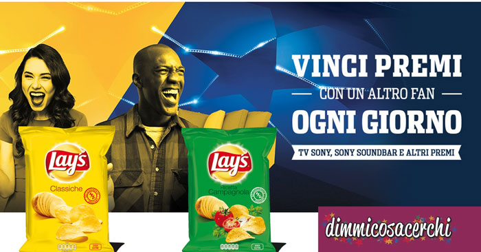 "Concorso Lay's ""Game Ready"""