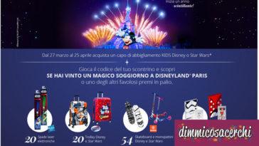 Concorso OVS: festeggia 25 anni di magia con Disney