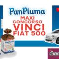 Concorso PanPiuma: vinci Fiat 500 + Powerbank