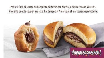 Coupon McDonald 30% di sconto
