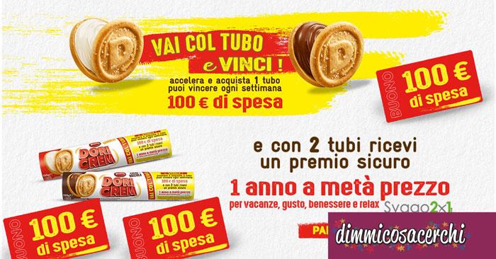 Doria Dori Cream: vinci buoni spesa da 100€