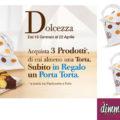 Mulino Bianco evento Dolcezza: porta torta omaggio